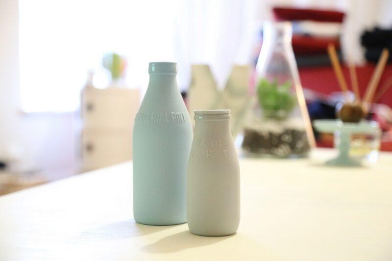 ミルクの瓶